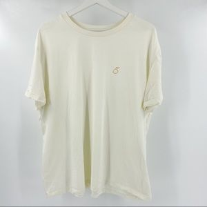 Oak + Fort cream Tee with pear picture